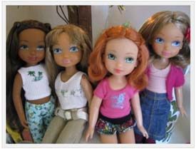 4 Ever Best Friends Dolls