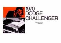 1970 1971 Dodge Challenger Parts, Repair Manuals, Engine.