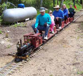How to build a Live Steam Train