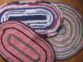 Crochet Rag Rugs Patterns